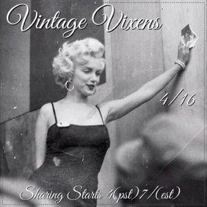 FRIDAY 4/16 Vintage Vixens Sign Up Sheet
